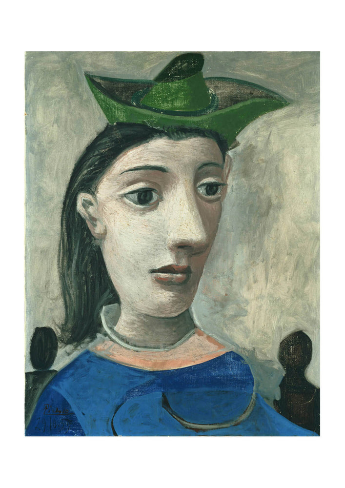 Picasso - Woman with Green Hat