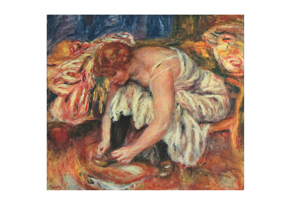Pierre Auguste Renoir - Getting Dressed
