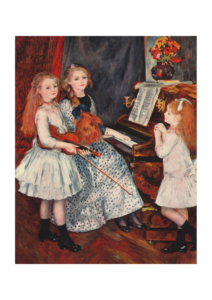Pierre Auguste Renoir - Girls and Piano