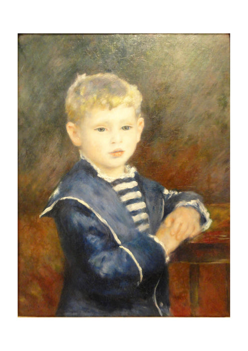 Pierre Auguste Renoir - Portrait of Paul Haviland