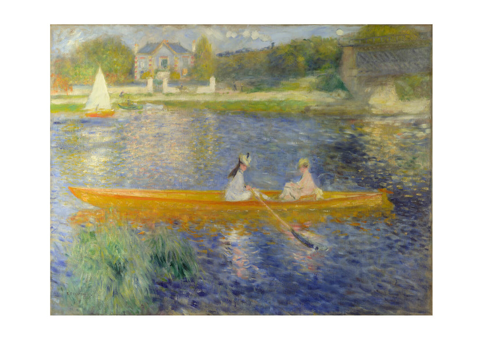 Pierre Auguste Renoir - Seine at Asnieres 'The Skiff'