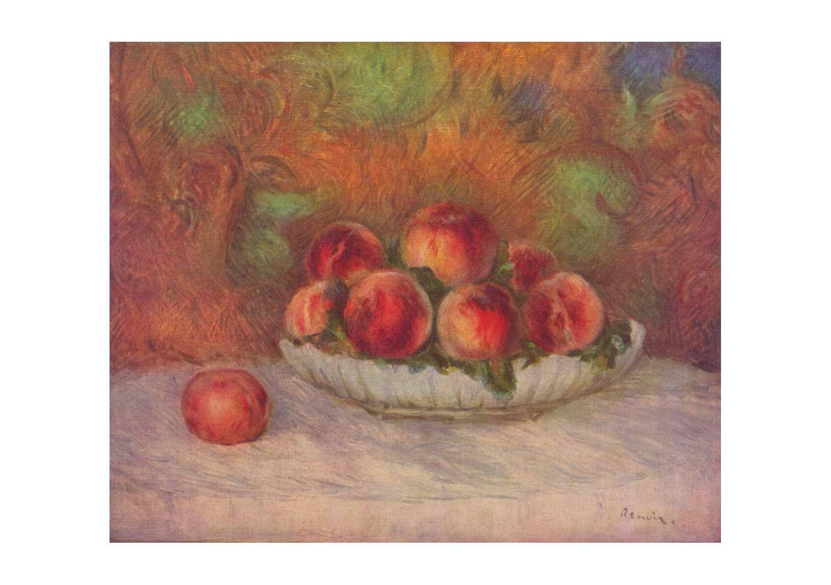 Pierre Auguste Renoir - Still Life Peaches