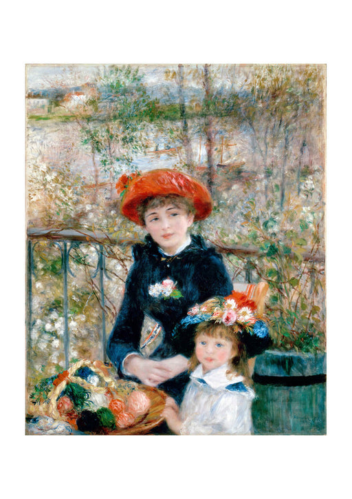 Pierre Auguste Renoir - Two Sisters On the Terrace
