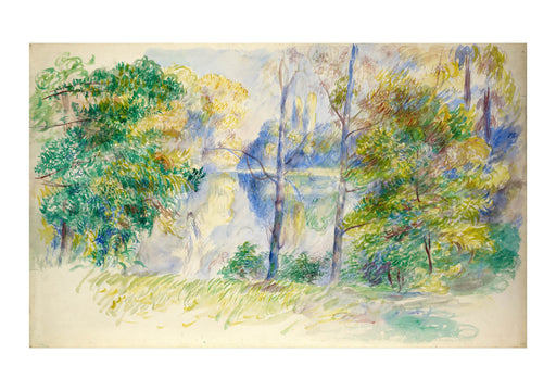 Pierre Auguste Renoir - View of a Park