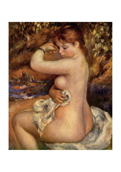Pierre Auguste Renoir - Woman Washing