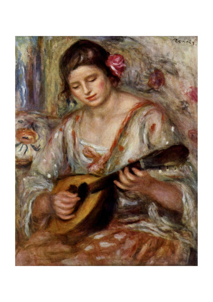 Pierre Auguste Renoir - Woman With Instrument