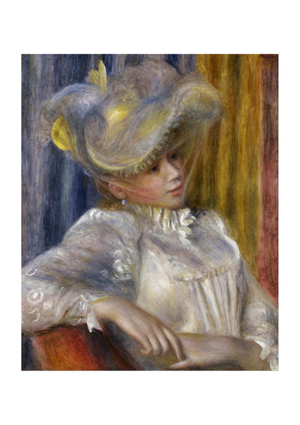 Pierre Auguste Renoir - Woman with a Hat