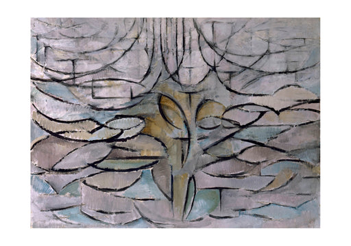 Piet Mondrian - Blossoming Apple Tree