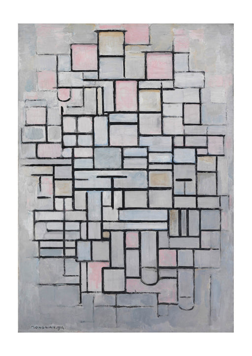 Piet Mondrian - Composition No IV