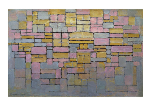 Piet Mondrian - Tableau no 2 Composition no V