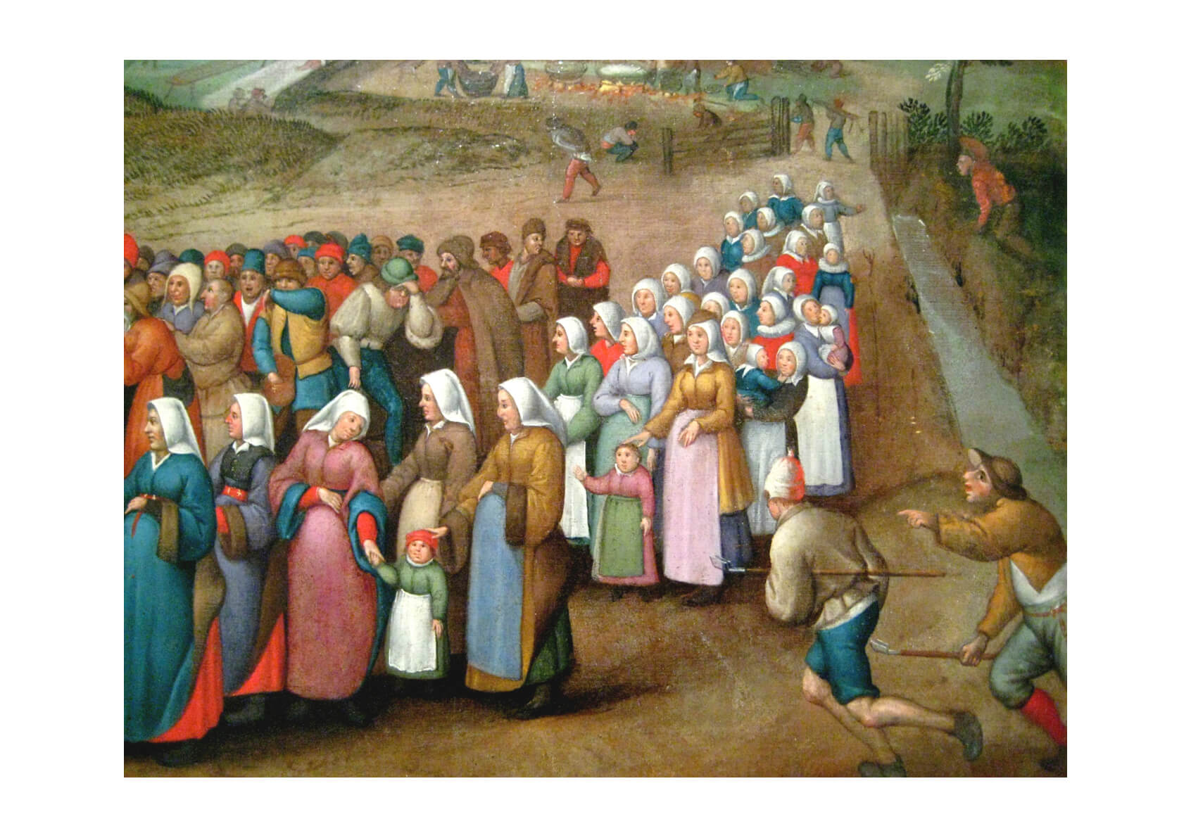 Pieter Bruegel the Elder - Crowd