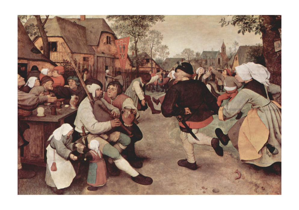 Pieter Bruegel the Elder - Dance