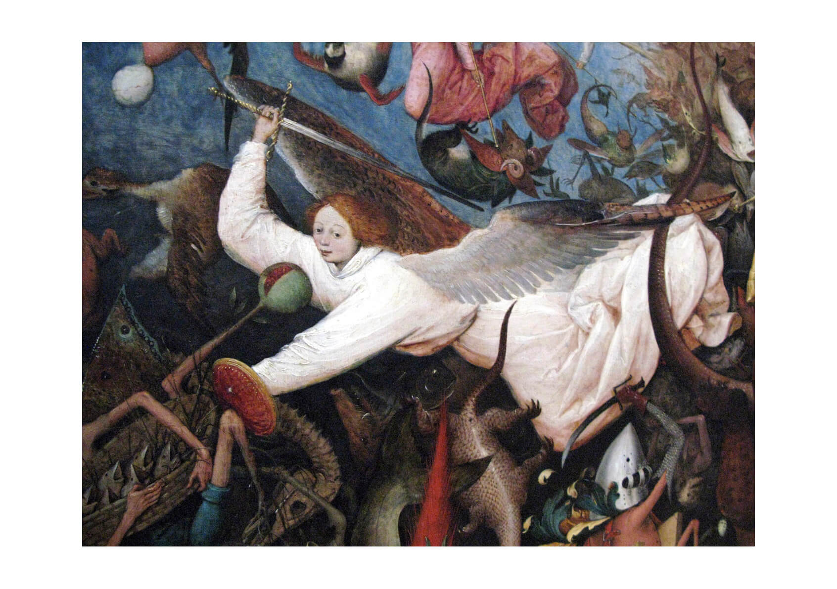 Pieter Bruegel the Elder - Fall of rebel Angels III
