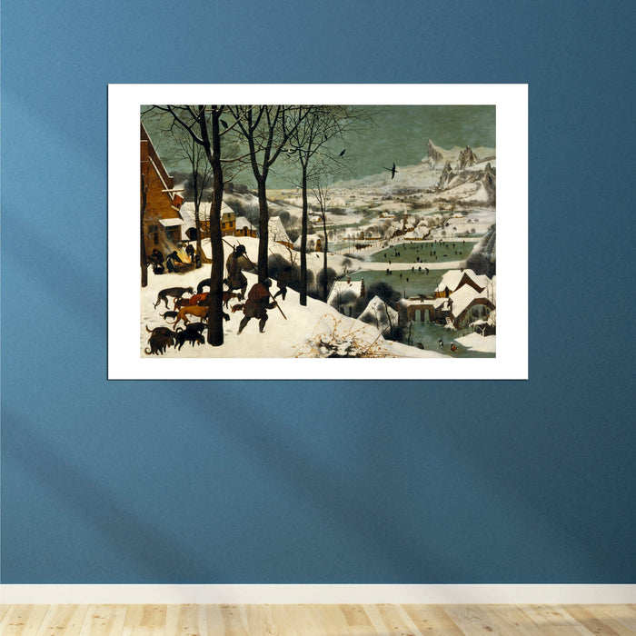 Pieter Bruegel The Elder Hunters In The Snow Winter Spiffing Prints