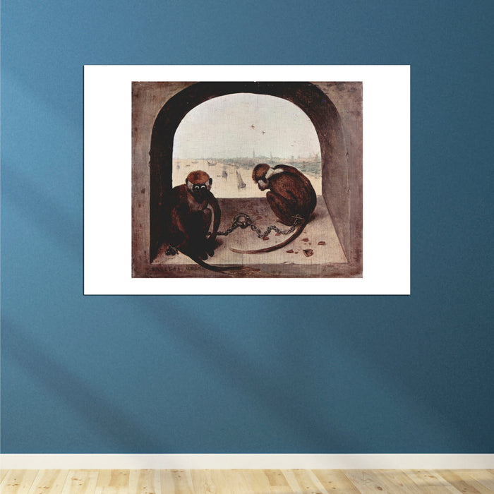 Pieter Bruegel the Elder - Monkeys