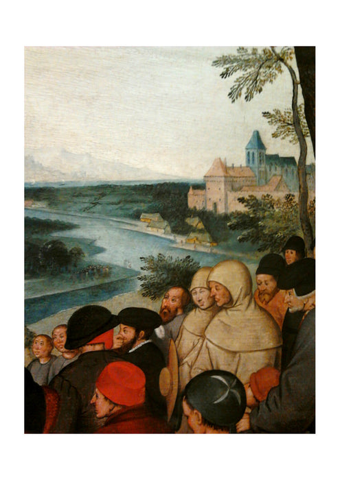 Pieter Bruegel the Elder - Preaching (detail)