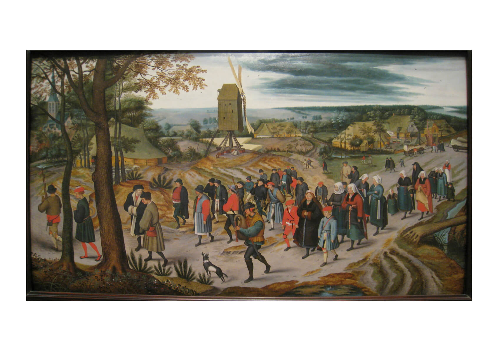 Pieter Bruegel the Elder - The Marriage Procession