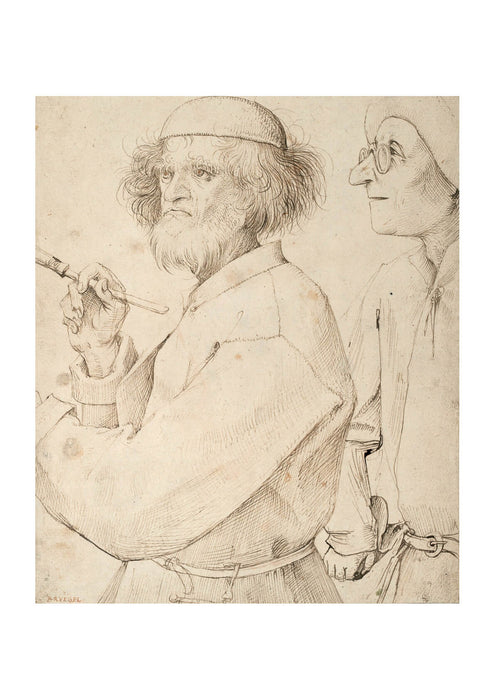 Pieter Bruegel the Elder - The Painter and the Buyer 1565