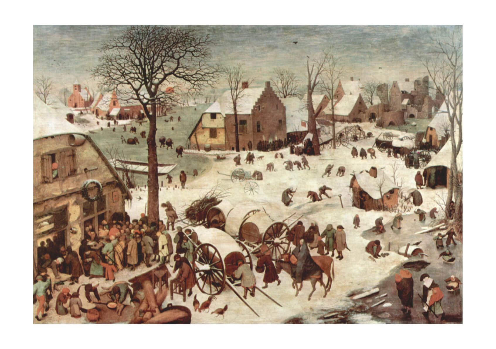 Pieter Bruegel the Elder - Village