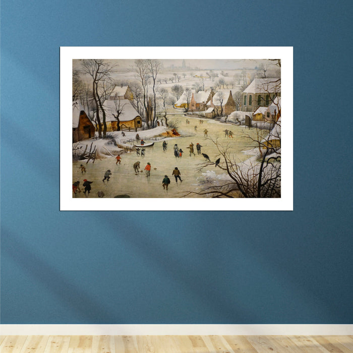 Pieter Bruegel the Elder - Winter Landscape with Bird Trap