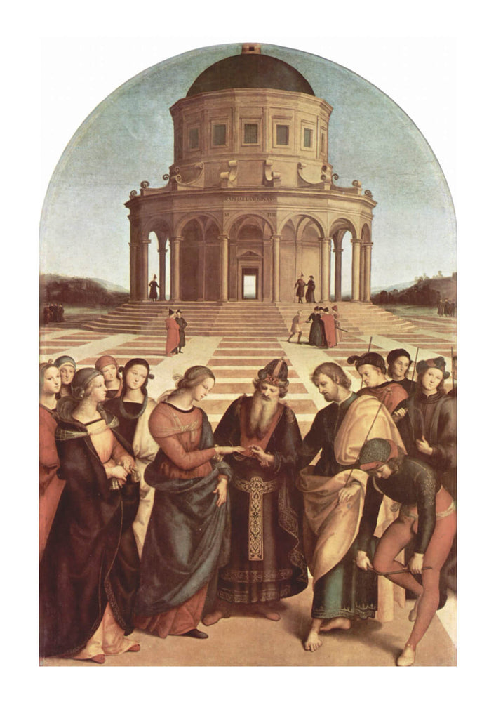 Raphael - Infront of the Temple
