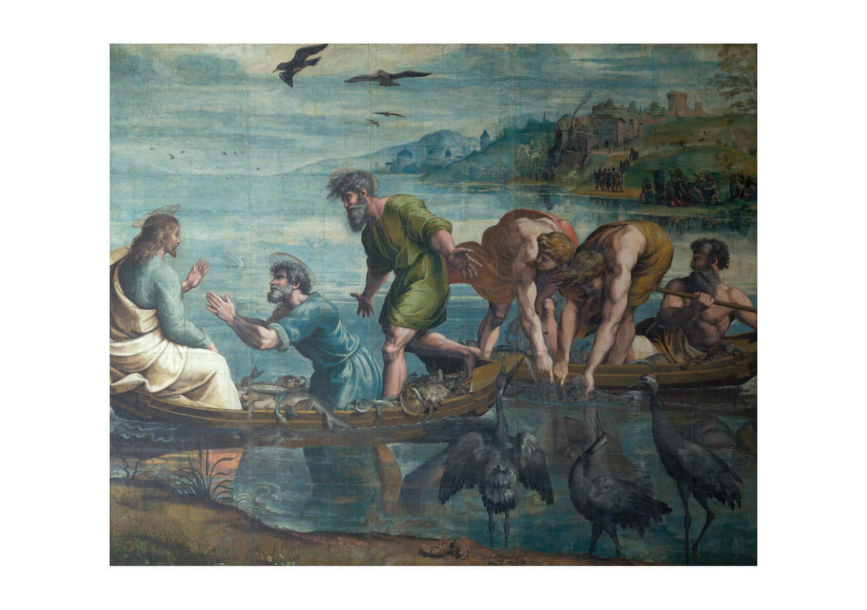 Raphael - The Miraculous Draft of Fishes