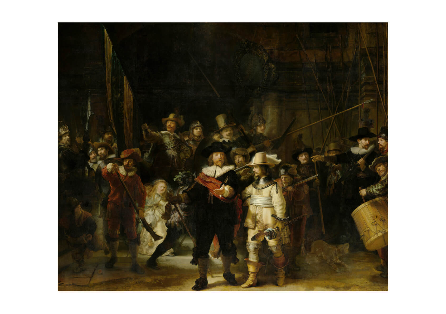 Rembrandt Harmenszoon van Rijn - The Nightwatch