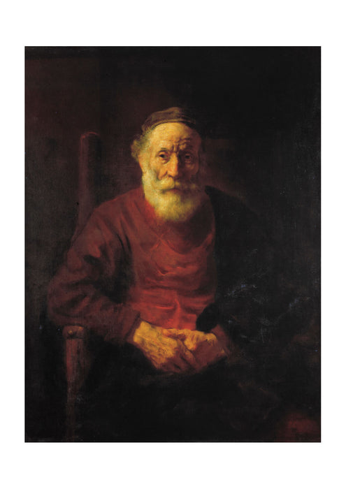 Rembrandt Harmenszoon van Rijn An Old Man in Red fine art