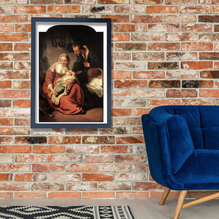 Rembrandt Harmenszoon van Rijn The Holy Family fine