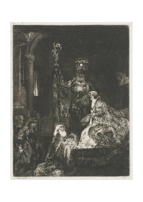 Rembrandt Harmenszoon van Rijn The Presentation in the Temple