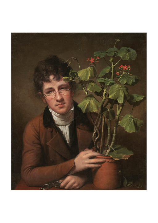 Rembrandt Peale Rubens Peale with a Geranium