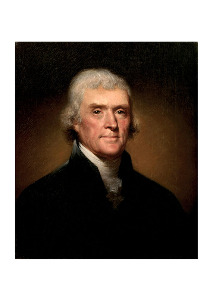 Rembrandt Peale Thomas Jefferson