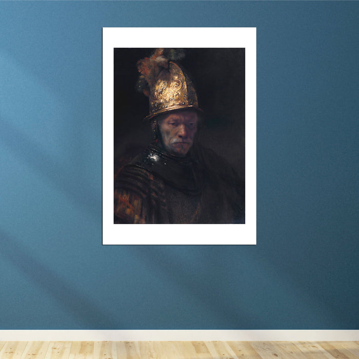 Rembrandt (circle) The Man with the Golden Helmet