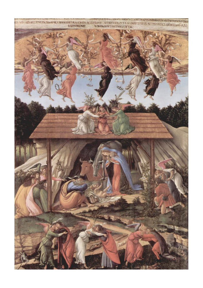 Sandro Botticelli - Celestial Nativity