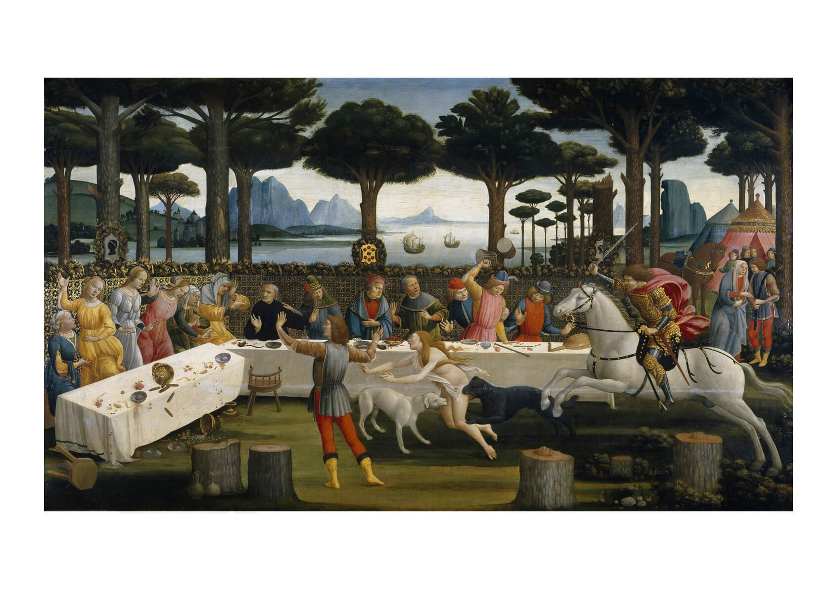 Sandro Botticelli - The Banquet