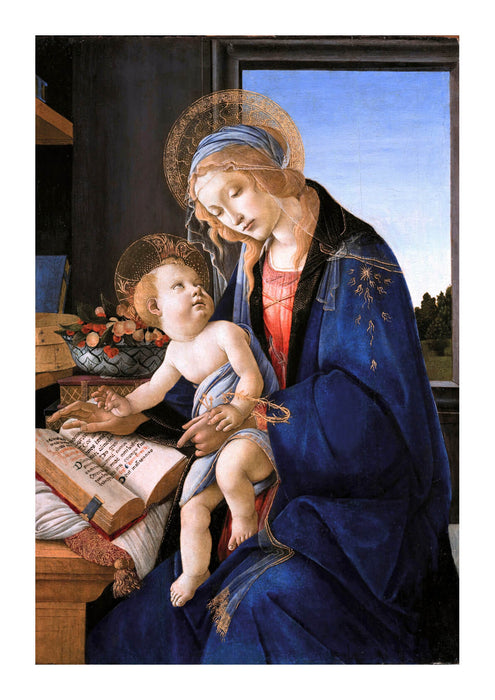 Sandro Botticelli - Woman and Child