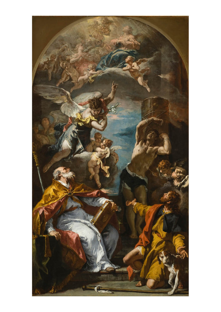 Sebastiano Ricci - A Glory of the Virgin