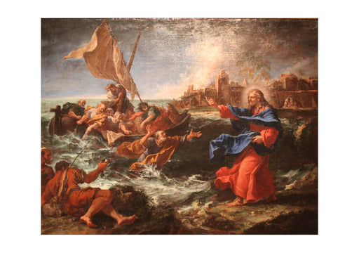 Sebastiano Ricci - The Miraculous Draught of Fishes