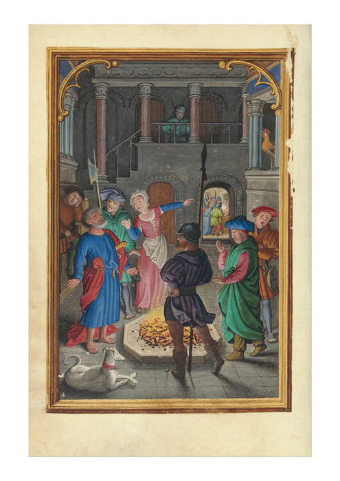 Simon Bening - The Denial of Saint Peter