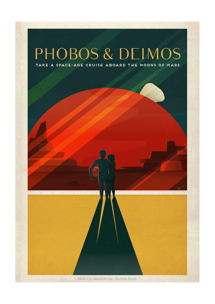 SpaceX Mars - Phobos and Deimos Space Tourism