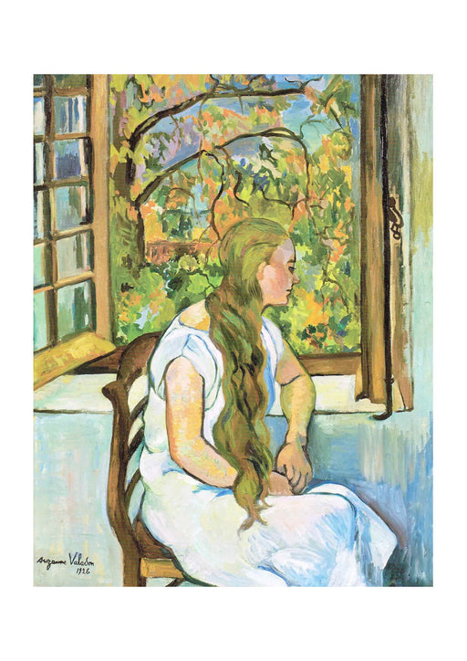 Suzanne Valadon - Germaine Utter in front of her Window