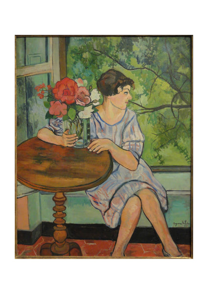 Suzanne Valadon - Young Girl in Front of a Window