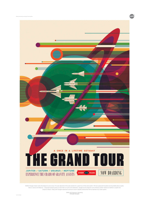 The Grand Tour NASA Space Tourism