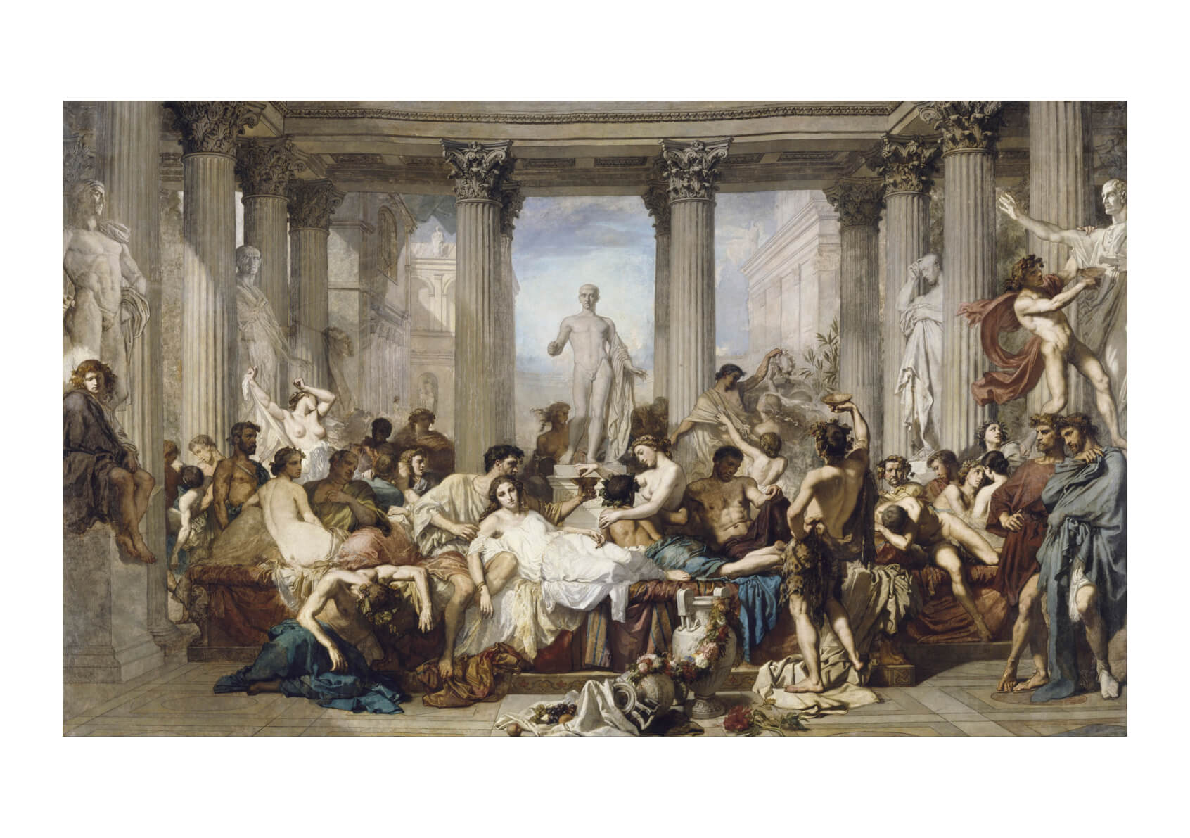 Thomas Couture - Romans during the Decadence