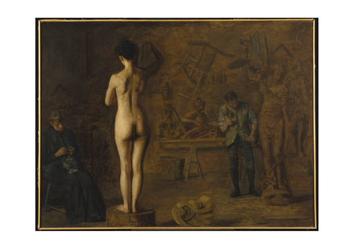Thomas Eakins - William Rush Carving