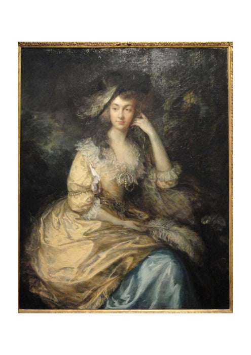 Thomas Gainsborough - Frances Susanna Lady de Dunstanville