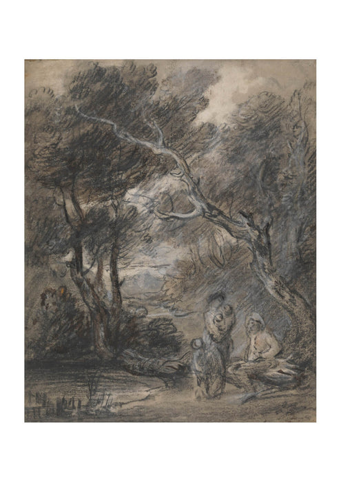 Thomas Gainsborough - Landscape with People