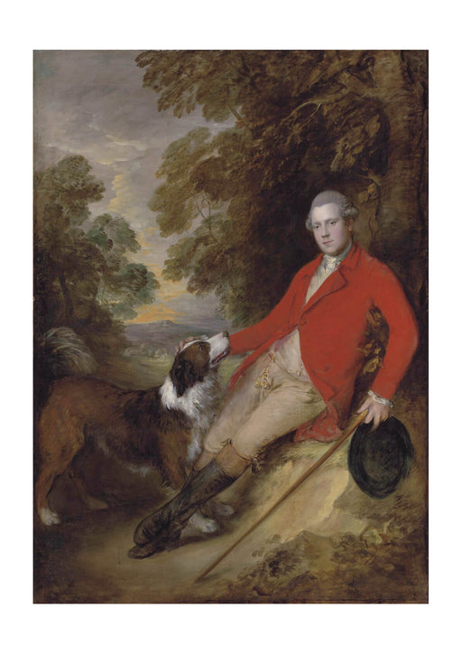 Thomas Gainsborough - Philip Stanhope 5th Earl of Chesterfield