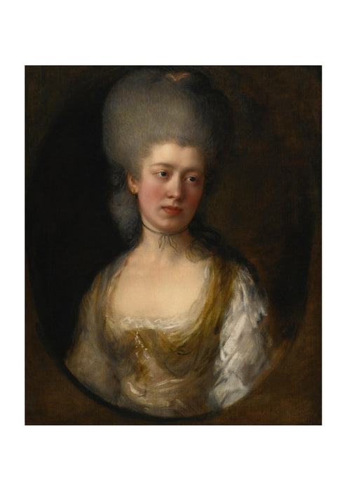 Thomas Gainsborough - Portrait of Lady Catherine Ponsonby