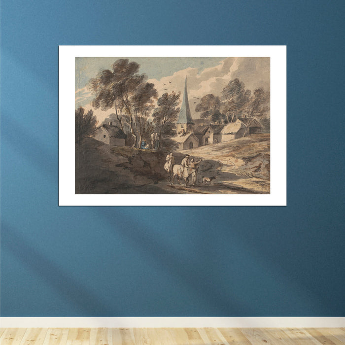 Thomas Gainsborough - Travellers on Horseback